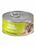 four friends kattmat tonfisk kyckling