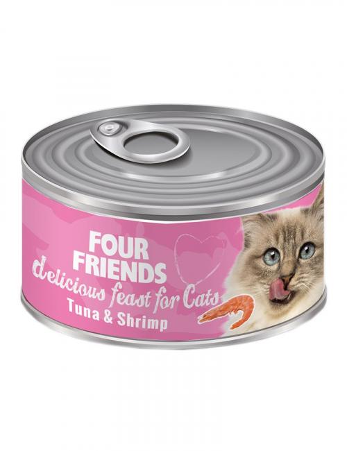 four friends kattman tonfisk shrimps