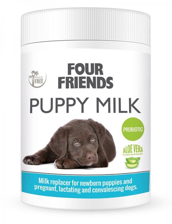four friends puppy milk mjölkersättning