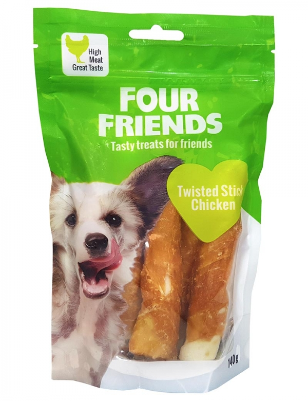four friends tugg pinne kyckling 140g