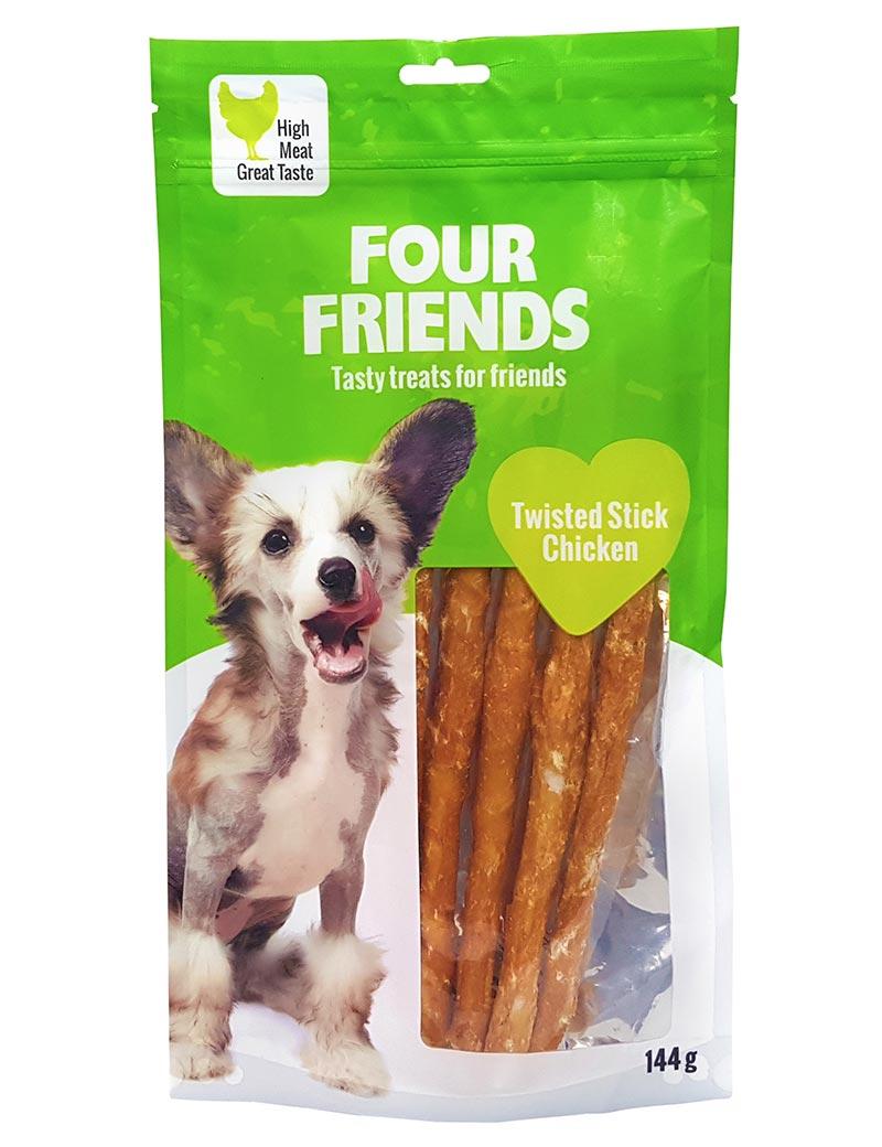 four friends tugg pinne kyckling 144g