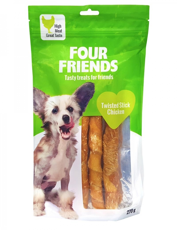 four friends tugg pinne kyckling 270g