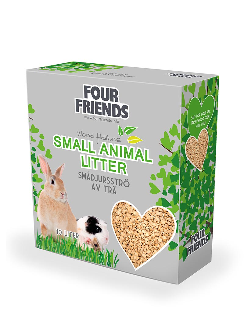 four friends smådjursströ strö 10