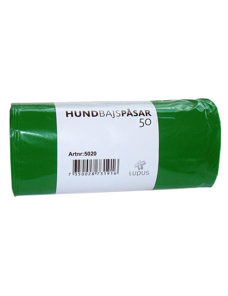 hundbajspåse grön
