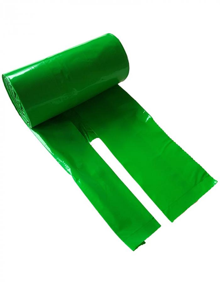 hundbajspåse knythandtag grön