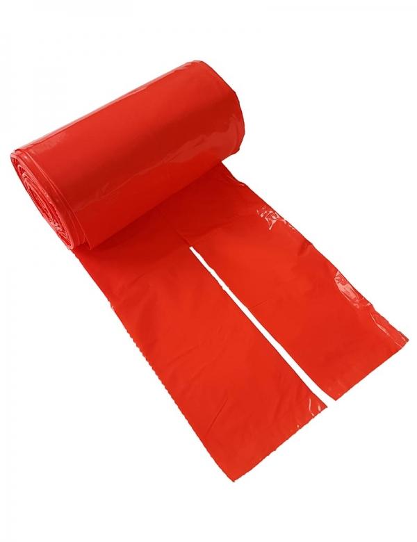 hundbajspåse knythandtag röd