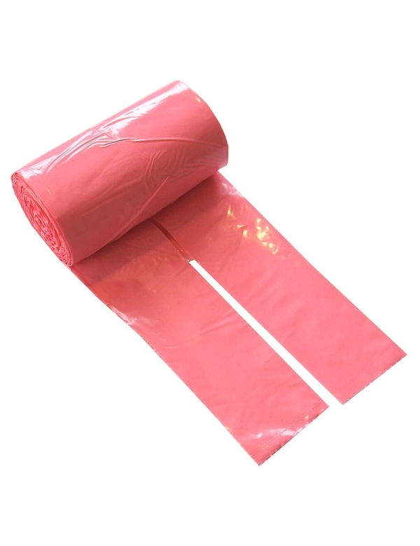 hundbajspåse knythandtag rosa