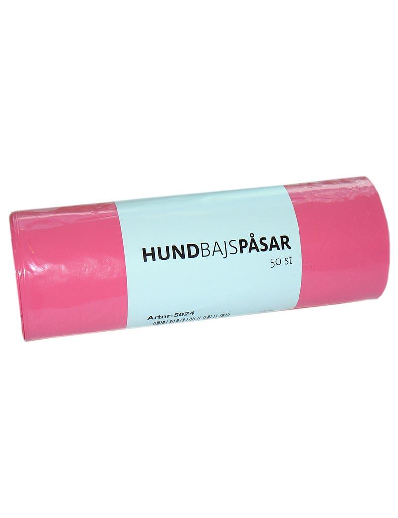 hundbajspåse rosa