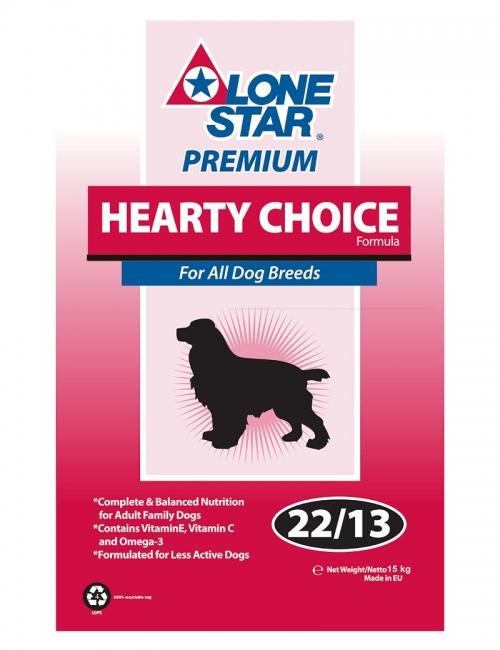lone star hearty choice 15kg