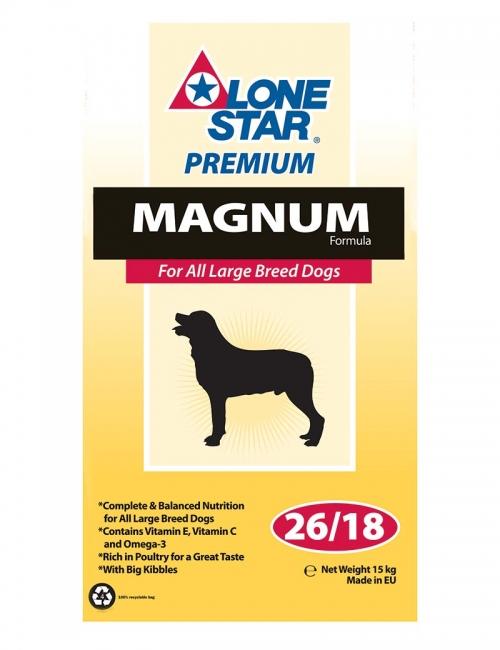 lone star hundmat magnum 15kg