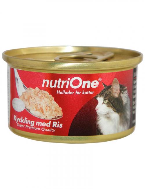 nutrione kattmat kyckling ris