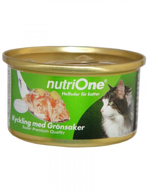 nutrione kattmat kyckling grönsaker