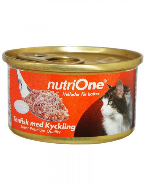 nutrione kattmat tonfisk kyckling
