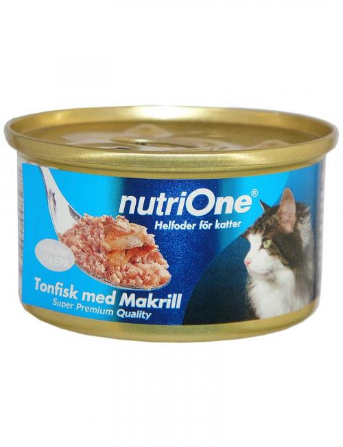 nutrione kattmat tonfisk makrill