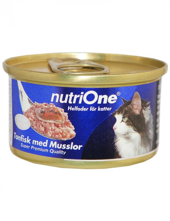 nutrione kattmat tonfisk musslor