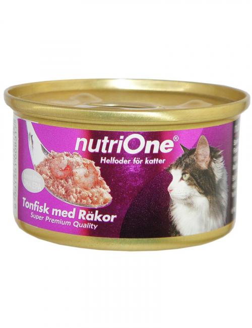 nutrione kattmat tonfisk räkor