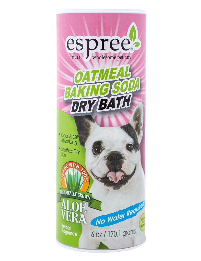 espree oatmeal baking soda dry bath