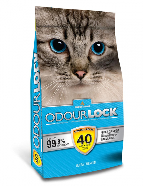odour lock kattsand bästa