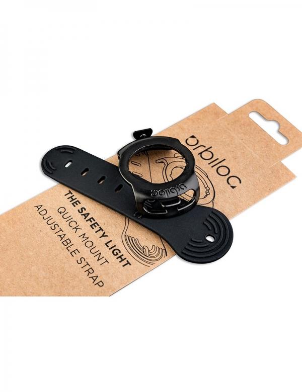 orbiloc quick mount adjustable gummi rubber strap