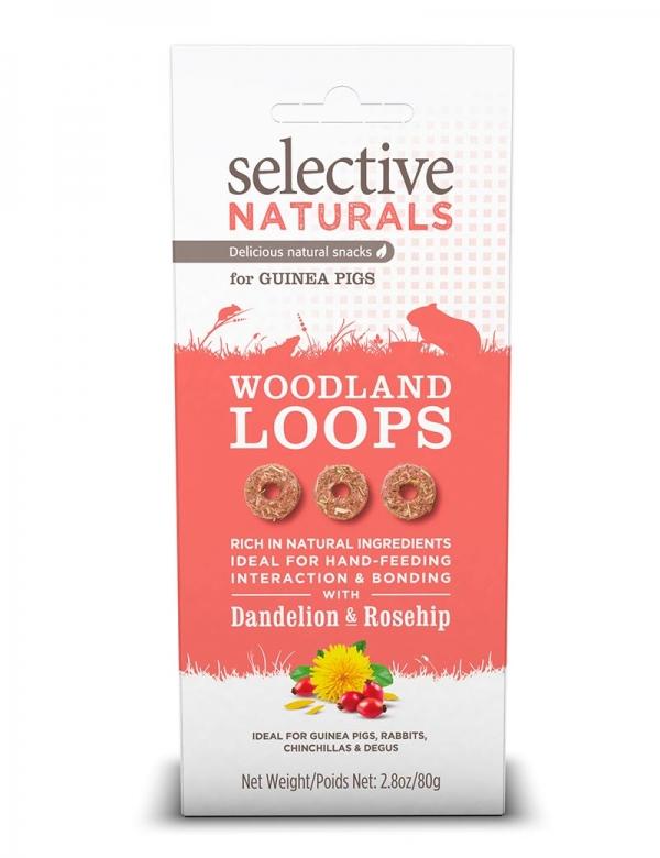 selective woodland loops smådjursgodis
