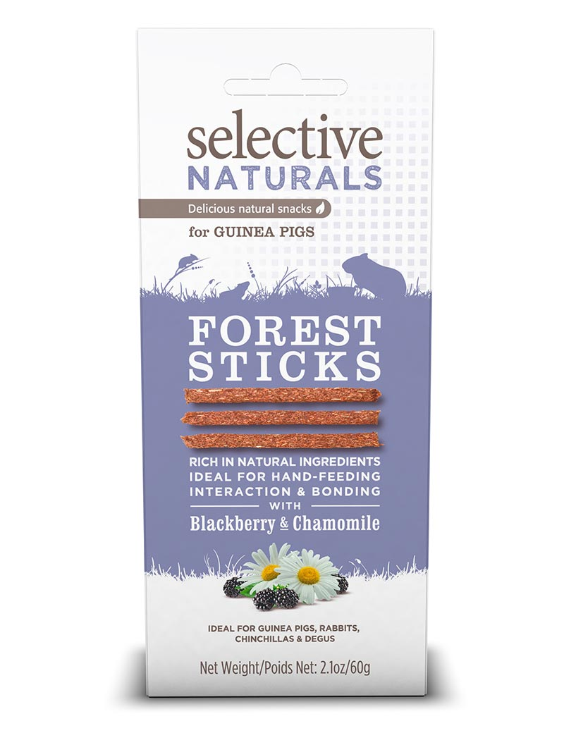 selective forest sticks smådjusgodis