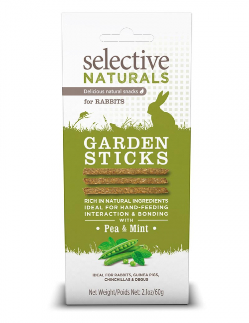 selective garden sticks smådjursgodis