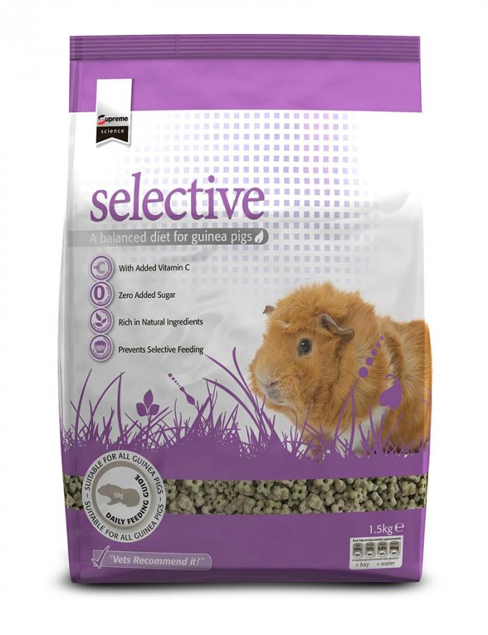 selective guinea pig marsvin 1,5kg