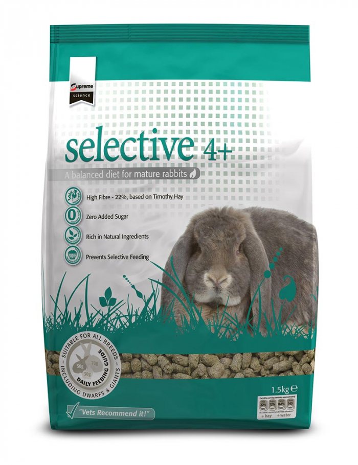 selective mature rabbit kanin senior 1,5kg