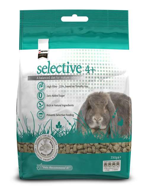 selective mature rabbit senior 350g