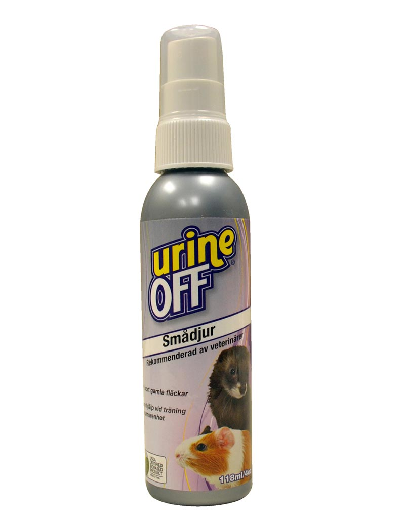 urine off small animals smådjur spray 118ml