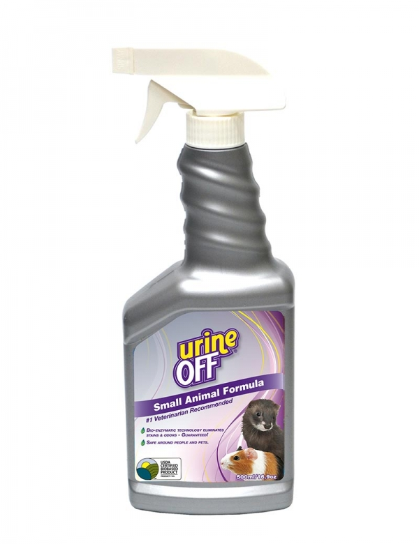 urine off small animals smådjur spray 500ml