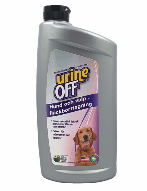 Urine Off Bullet Dog Carpet Injector 946ml