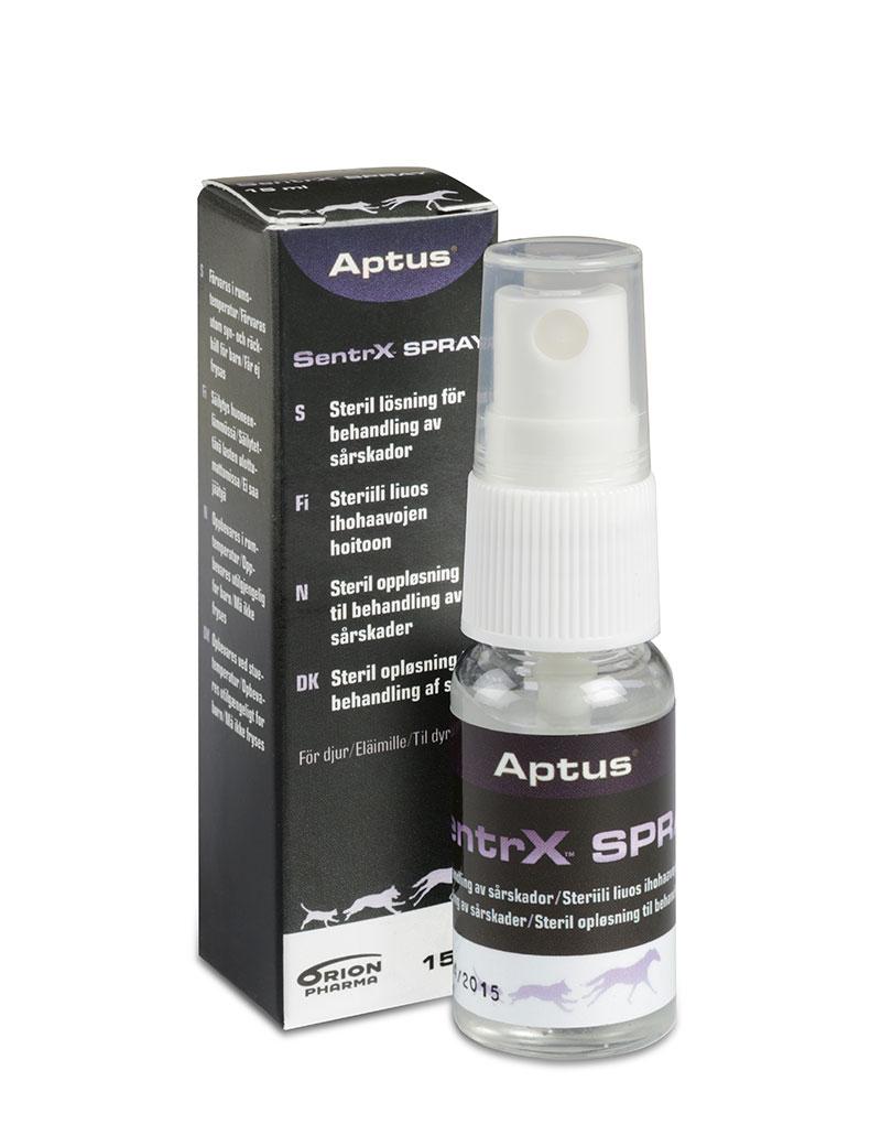 aptus sentrx spray hund katt