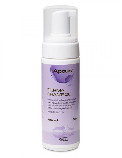 aptus derma shampoo schampo hund katt