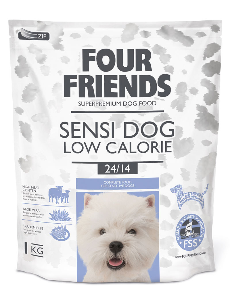 four friends sensi dog low 1 kg