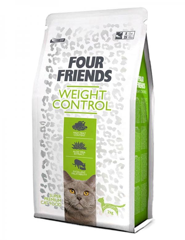 four friends kattmat weight control