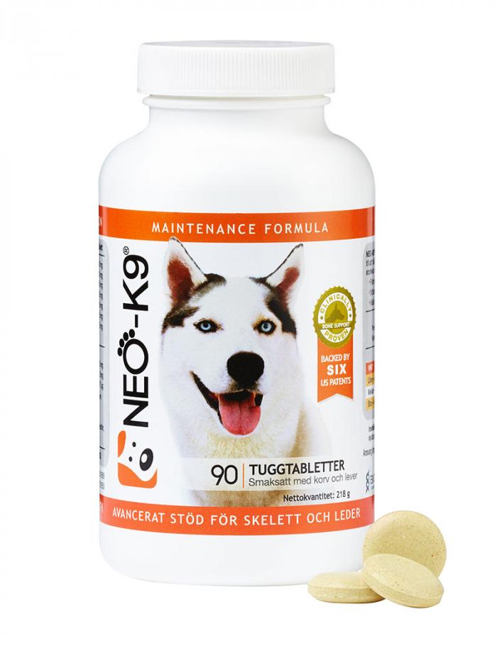 neo-k9 maintenance skelett leder 90 tabletter