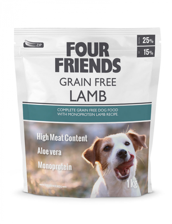 four friends hundmat grain free 1 kg