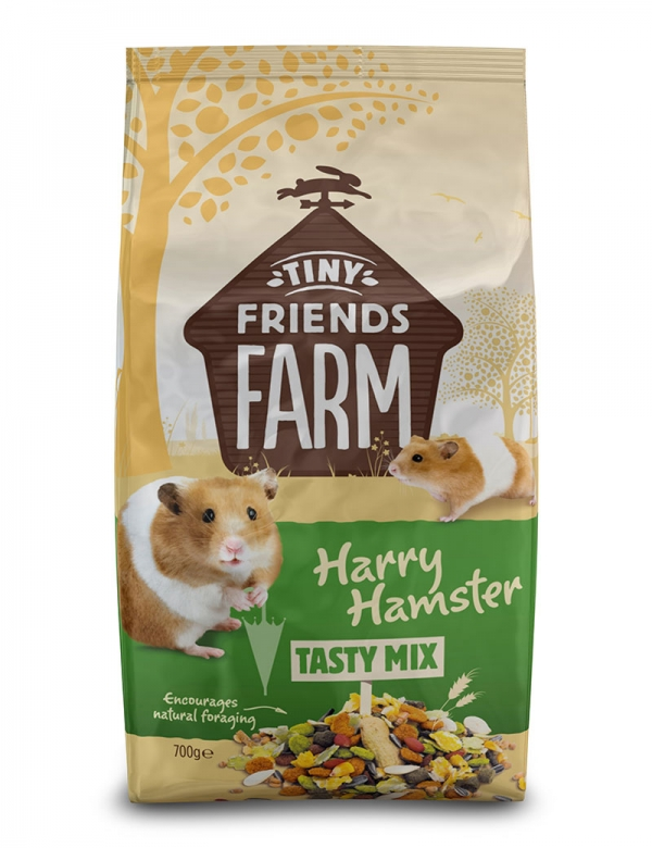 supreme tiny friends harry hamster 700g