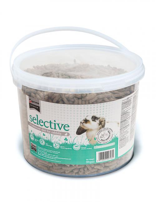 selective rabbit smådjursmat 3 kg