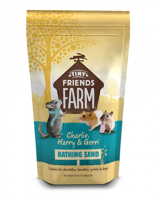 Supreme Petfoods Tiny Friends Farm Bathing Sand