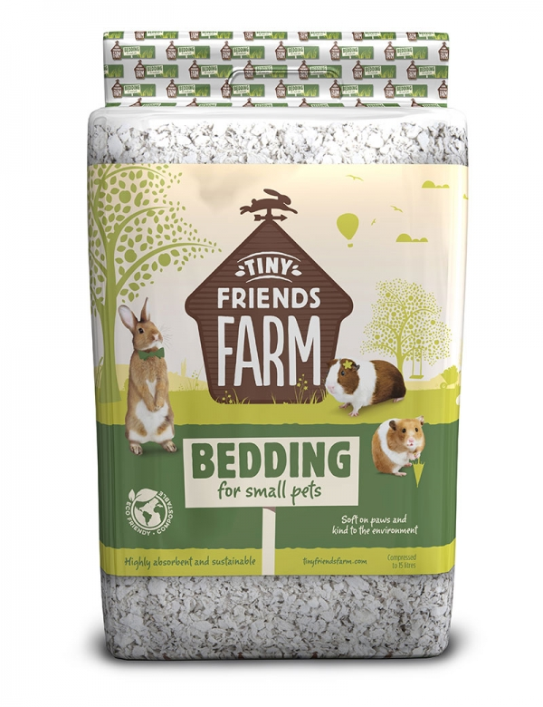 tiny friends bedding bäddmaterial 15liter