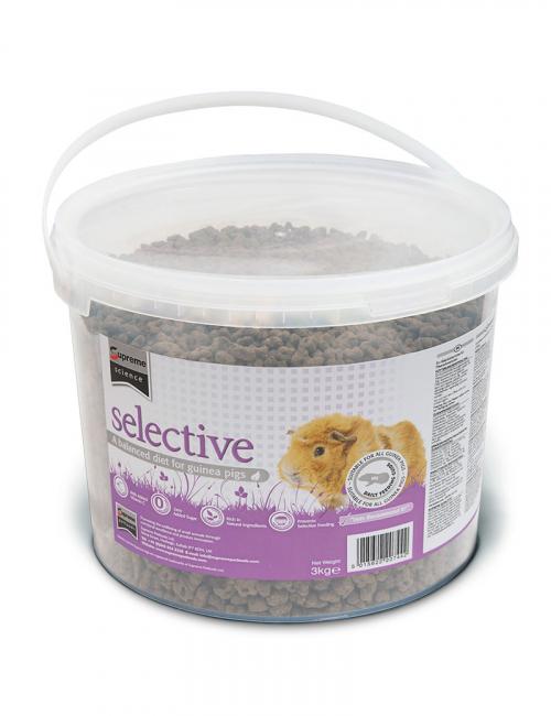 selective guinea pig smådjursmat 3kg