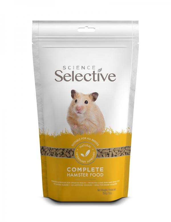 supreme petfoods selective hamster 350g mat