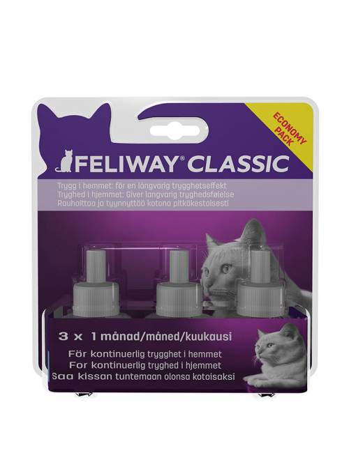 Feliway Classic Refill 3-pack