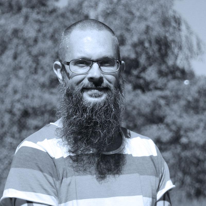 Porträtt av Christoffer.