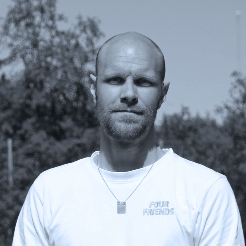 Porträtt av Hans.
