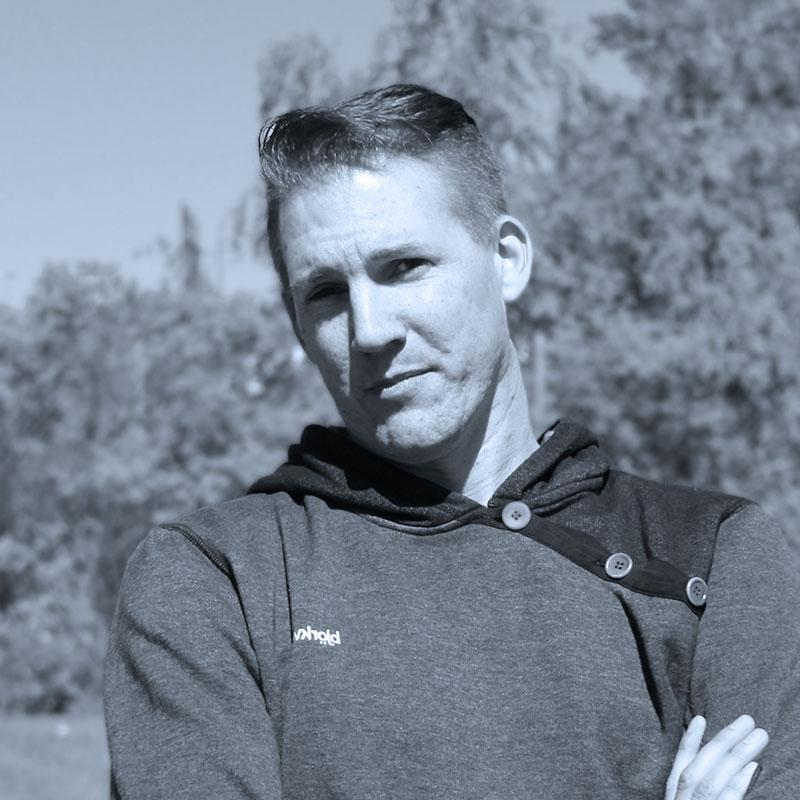 Personporträtt av Mattias.