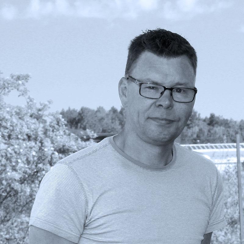 Personporträtt av Tobias.