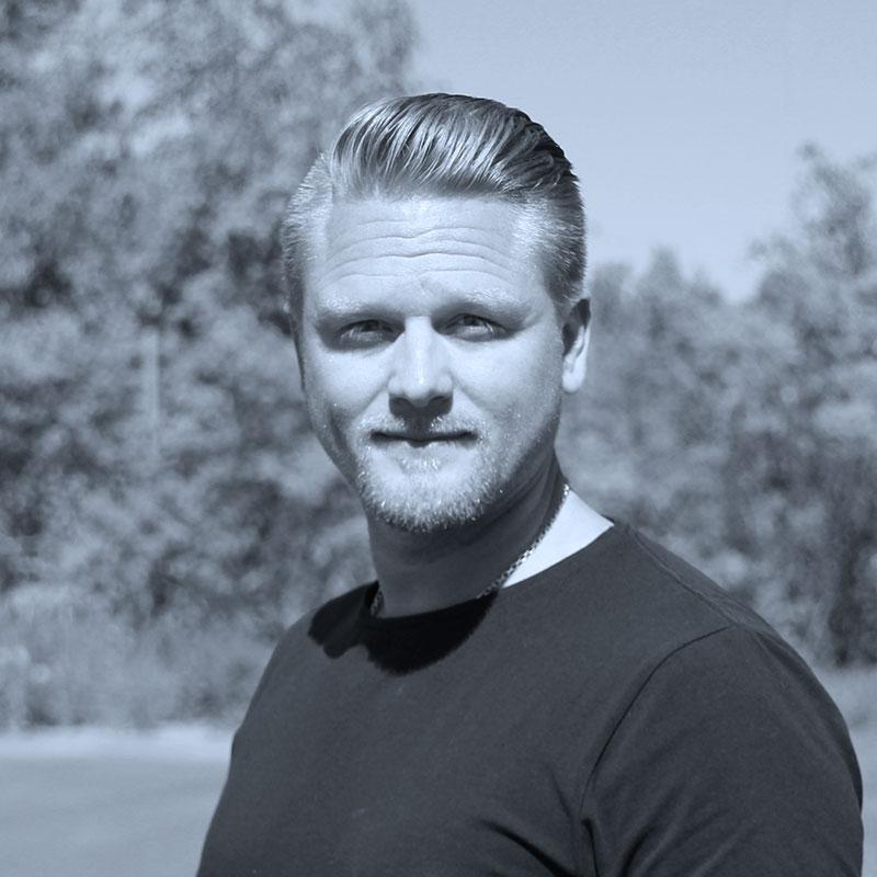 Personporträtt av Tony.